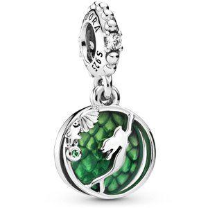 Pandora Disney Ariel Green Dangle Charm